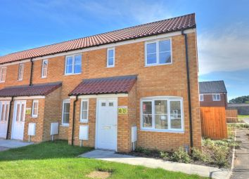 Thumbnail 2 bed end terrace house for sale in Bolton Road, Sprowston