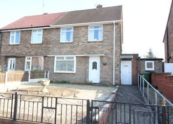Thumbnail 2 bed semi-detached house for sale in Cavendish Road, Worksop