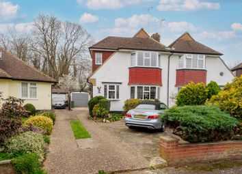 Portway Crescent, Ewell, Epsom KT17. 3 bed semi-detached house for sale
