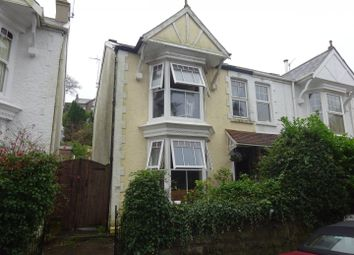 Thumbnail 4 bed semi-detached house for sale in 70 Queens Road, Mumbles, Swansea