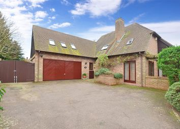 Thumbnail 5 bed detached house for sale in Badgers Bridge, Etchinghill, Folkestone, Kent