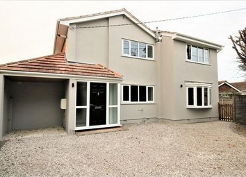 Thumbnail 4 bed detached house for sale in Woodville Road, Canvey Island, Essex