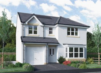 "Thumbnail 4 bed detached house for sale in ""Fletcher"" at North Road, Liff, Dundee"