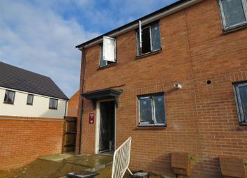 Thumbnail 2 bedroom end terrace house for sale in Gidding Road, Sawtry, Huntingdon