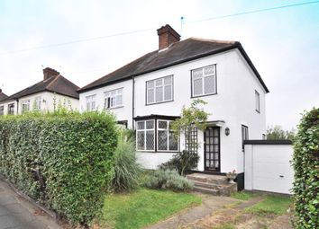 Thumbnail 3 bed semi-detached house for sale in Cranmore Road, Chislehurst, Kent