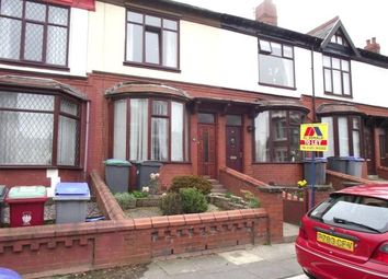 Thumbnail 3 bedroom terraced house to rent in Gloucester Avenue, Blackpool, Lancashire