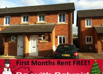 Thumbnail 2 bed link-detached house to rent in Upperby Way, Carlisle, Carlisle