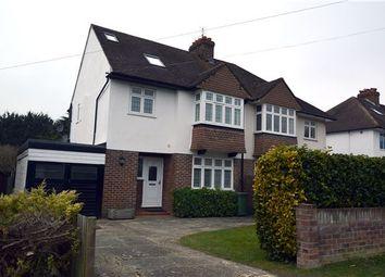 Thumbnail 4 bed semi-detached house for sale in Tudor Drive, Otford, Sevenoaks, Kent