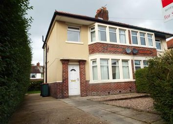 Thumbnail 3 bed semi-detached house for sale in Cadley Causeway, Fulwood, Preston, Lancashire