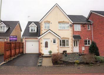 Thumbnail 3 bedroom semi-detached house for sale in New Candlestone, Broadlands, Bridgend