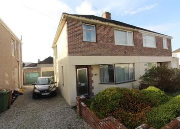 Thumbnail 3 bed semi-detached house for sale in St. Margarets Road, Plympton, Plymouth