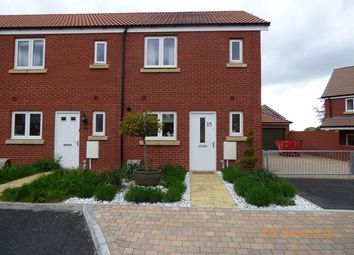 Thumbnail 2 bed end terrace house to rent in Somerville Crescent, Exeter