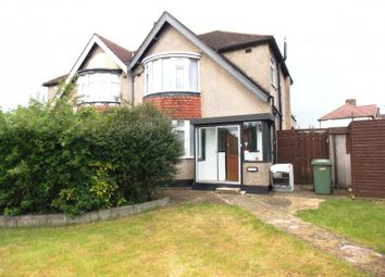 Thumbnail 3 bed semi-detached house for sale in Somervell Road, South Harrow, Harrow