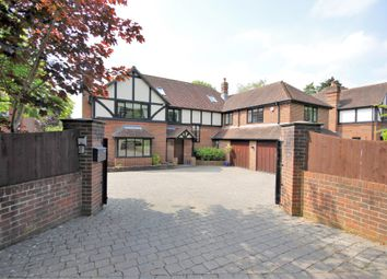 Thumbnail 6 bed detached house for sale in Holly Hill Lane, Sarisbury Green