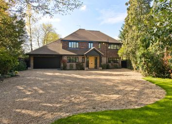 Thumbnail 5 bed detached house to rent in Cobham Road, Fetcham