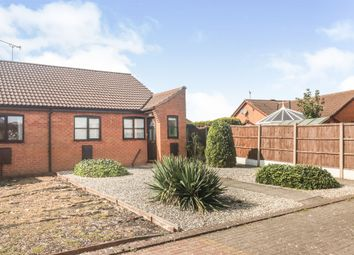 Thumbnail 1 bedroom terraced bungalow for sale in Hall Rise, Messingham, Scunthorpe
