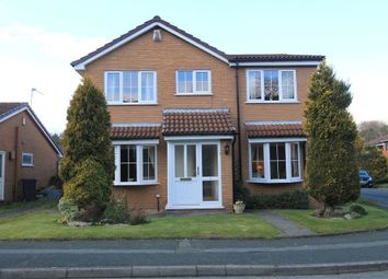 Thumbnail 4 bed detached house for sale in Middlebrook Drive, Lostock, Bolton, Lancashire