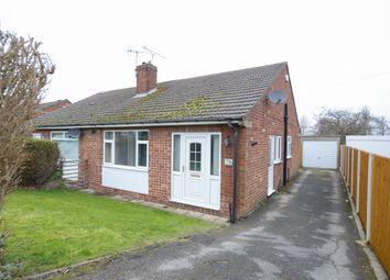 Thumbnail 2 bed semi-detached bungalow for sale in Hazel Drive, Walton, Chesterfield