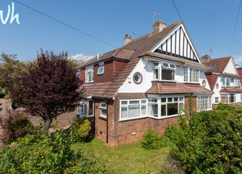 Thumbnail 3 bed semi-detached house for sale in Nevill Avenue, Hove
