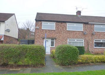 Thumbnail 3 bedroom property to rent in Garrick Road, Prenton