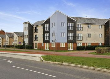 Thumbnail 3 bed flat for sale in Newport Road, Broughton, Milton Keynes