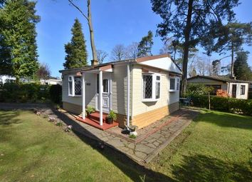 Thumbnail 1 bed mobile/park home for sale in Woodland Rise, Grange Estate, Church Crookham, Fleet