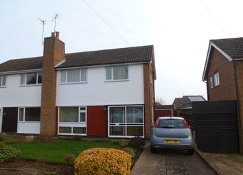 Thumbnail 3 bedroom semi-detached house for sale in Stanhope Road, Wigston