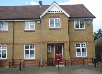 Thumbnail 3 bedroom end terrace house to rent in Gunning Road, Grays