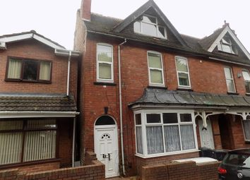 Thumbnail 4 bed end terrace house for sale in Selborne Road, Dudley, West Midlands