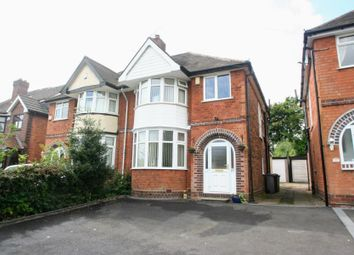 Thumbnail 3 bed semi-detached house for sale in Braemar Road, Solihull