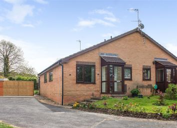 Thumbnail 1 bedroom semi-detached bungalow for sale in Arbury Dale, Shepshed, Loughborough, Leicestershire