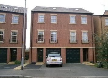 Thumbnail 4 bedroom town house to rent in Thwaite Close, Great Oakley, Corby