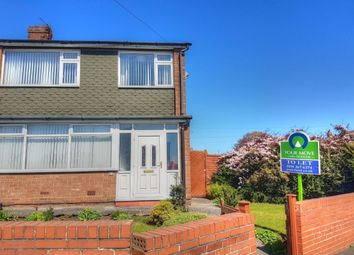 Thumbnail 3 bed semi-detached house to rent in Mapperley Drive, Dumpling Hall, Newcastle Upon Tyne