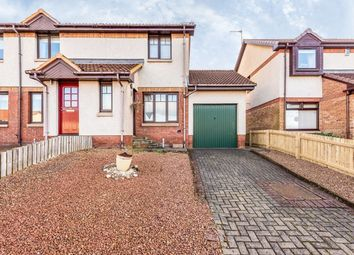 Thumbnail 2 bedroom semi-detached house for sale in Eastcroft Drive, Polmont, Falkirk, Stirlingshire