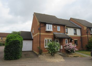 Thumbnail 3 bed end terrace house for sale in Aldenham Close, Bedford