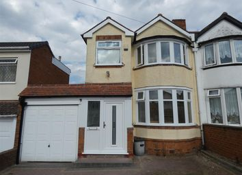 Thumbnail 3 bed semi-detached house to rent in Forest Hill Road, Sheldon, Birmingham