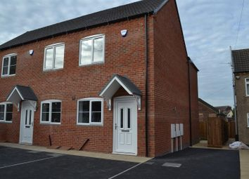 Thumbnail 2 bedroom town house for sale in Belvedere Road, Woodville, Swadlincote