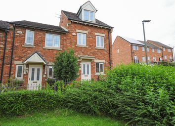 Thumbnail 3 bed town house for sale in Martindale Close, Staveley, Chesterfield