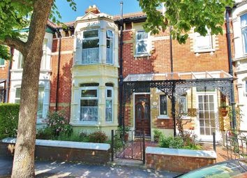 Thumbnail 3 bed terraced house for sale in Clovelly Road, Southsea