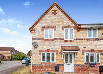 Thumbnail 2 bed end terrace house to rent in Hughes Court, Hethersett
