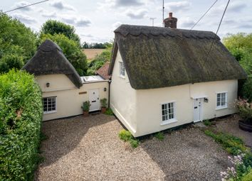 Thumbnail 4 bed cottage for sale in Ickleton Road, Elmdon, Saffron Walden, Essex