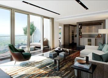 Thumbnail 3 bed flat for sale in One Park Drive, Canary Wharf, London