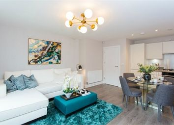 Thumbnail 1 bed flat for sale in Sutton Court Road, Hillingdon