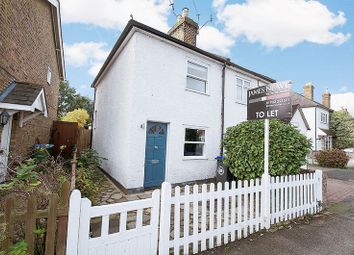 Thumbnail 2 bed semi-detached house to rent in Hersham Road, Hersham, Walton-On-Thames