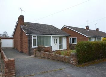 Thumbnail 2 bed bungalow to rent in Winchester Way, Gresford, Wrexham