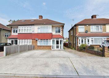 Thumbnail 3 bed semi-detached house for sale in Pettits Boulevard, Rise Park, Romford