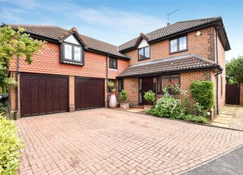 Thumbnail 5 bed detached house for sale in Derbyshire Green, Warfield, Berkshire