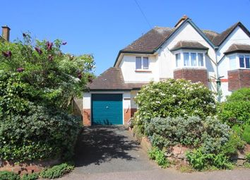 Thumbnail 4 bedroom semi-detached house for sale in Budleigh Salterton, Devon