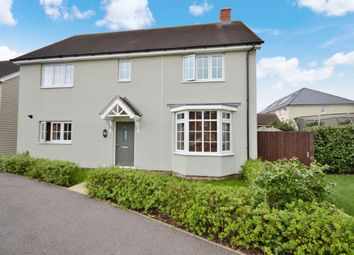 Thumbnail 4 bed detached house for sale in Saffron Way, Little Canfield, Dunmow