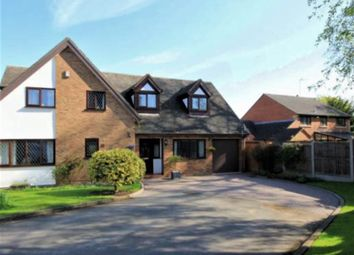 Thumbnail 4 bed detached house to rent in Rowley Hall Close, Stafford